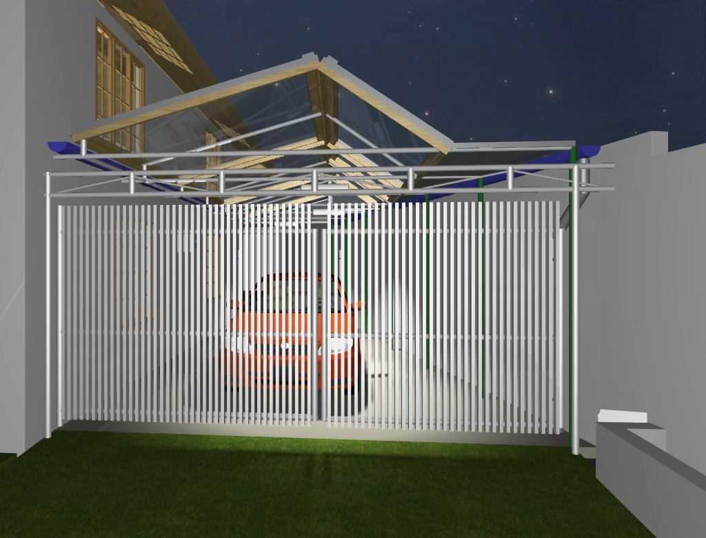 Archdesignbuild7 Project Atap Garasi Rumah Tinggal Jalan Sampoerna No 2 Bandung Jalan Sampoerna No 2 Bandung Pintu1 Modern 16766