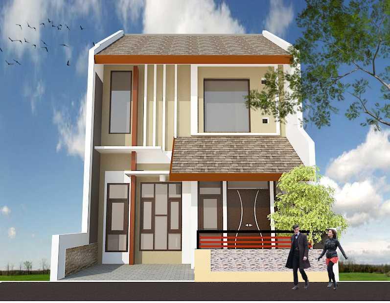 Archdesignbuild7 Rumah Tipe 36 2 Lantai Di Cimuncang Cimuncang, Bandung Cimuncang, Bandung Front View Minimalis 20135