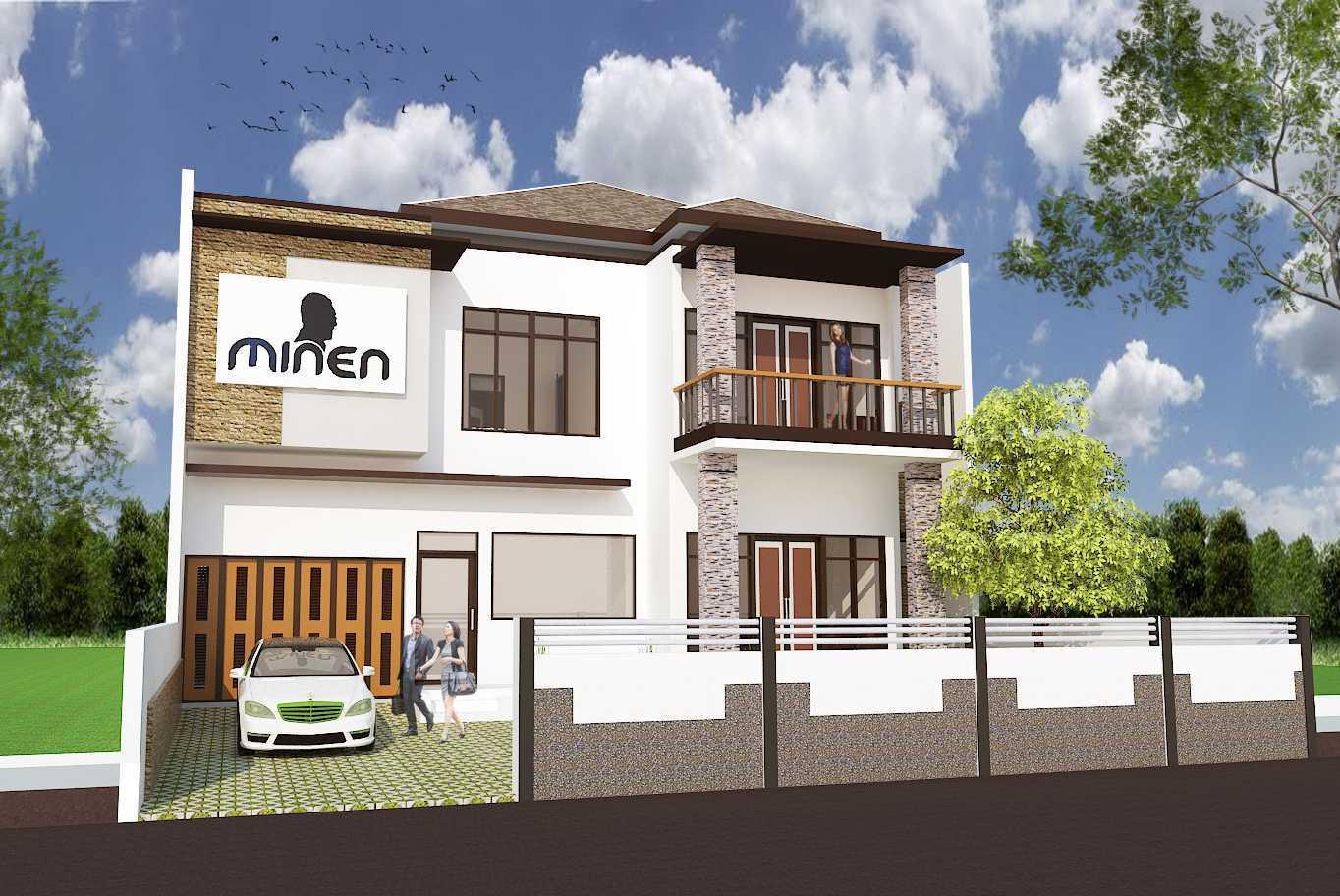 Archdesignbuild7 Rumah Tinggal 2 Lantai ( Minen )  Jl. Alfa Ii, Cigadung, Bandung Jl. Alfa Ii, Cigadung, Bandung Front View Minimalis 20141