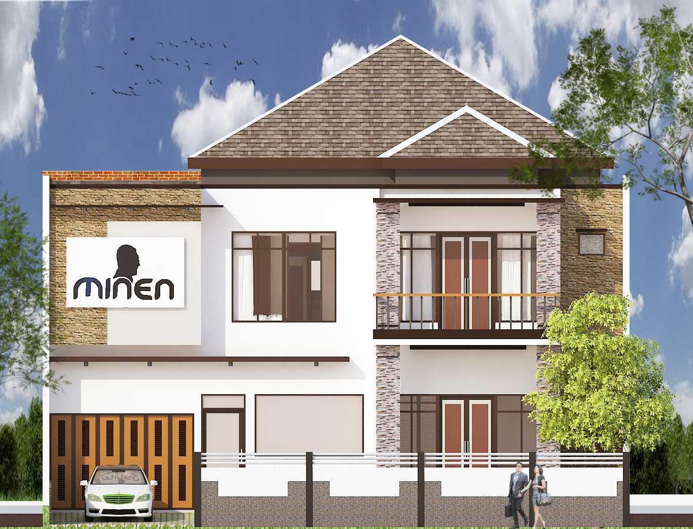 Archdesignbuild7 Rumah Tinggal 2 Lantai ( Minen )  Jl. Alfa Ii, Cigadung, Bandung Jl. Alfa Ii, Cigadung, Bandung Front View Minimalis 20145