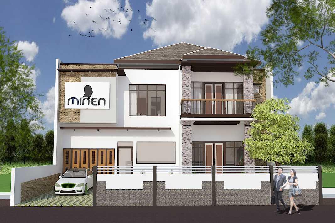 Archdesignbuild7 Rumah Tinggal 2 Lantai ( Minen )  Jl. Alfa Ii, Cigadung, Bandung Jl. Alfa Ii, Cigadung, Bandung Front View Minimalis 20146