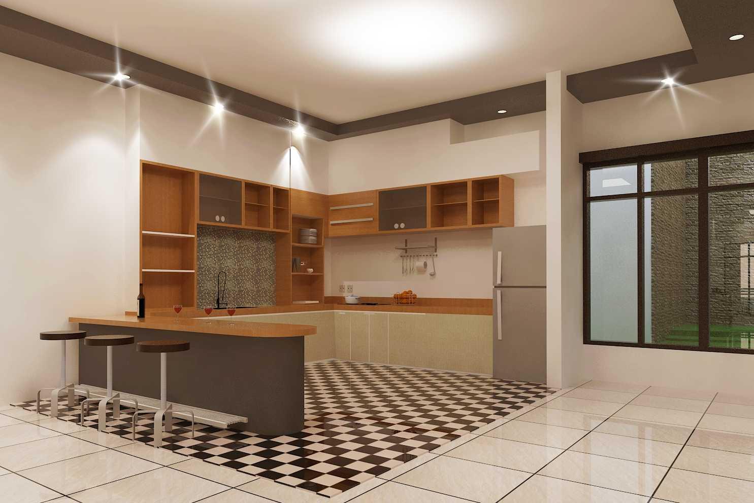 Archdesignbuild7 Rumah Tinggal 2 Lantai ( Minen )  Jl. Alfa Ii, Cigadung, Bandung Jl. Alfa Ii, Cigadung, Bandung Kitchen Minimalis 20150