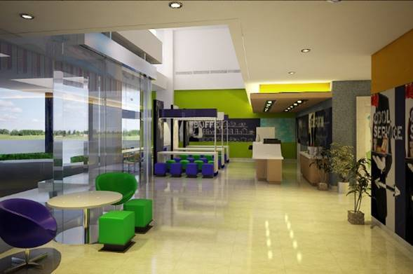 Bk Architects Ibis Budget Hotel At Karawaci Tangerang Tangerang Lobby  1528