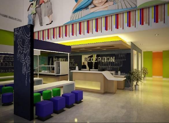Bk Architects Ibis Budget Hotel At Karawaci Tangerang Tangerang Reception Area  1530
