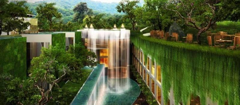 Bk Architects Hotel At Bali Bali Bali Waterfall  1561