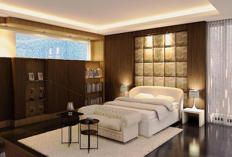 Bk Architects House At Pondok Indah Jakarta Jakarta Bedroom  1723