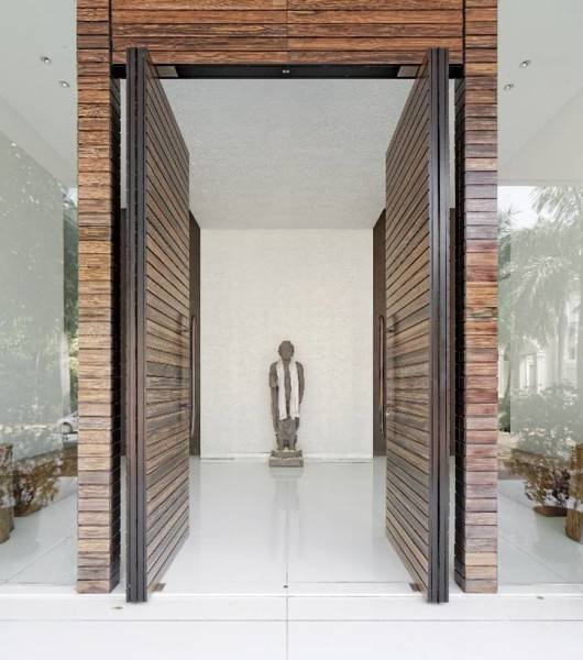 Bk Architects House At Pantai Indah Kapuk (Pik) Jakarta Jakarta Front Door  1736