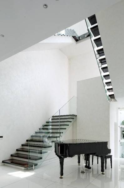 Bk Architects House At Pantai Indah Kapuk (Pik) Jakarta Jakarta Stairs  1737