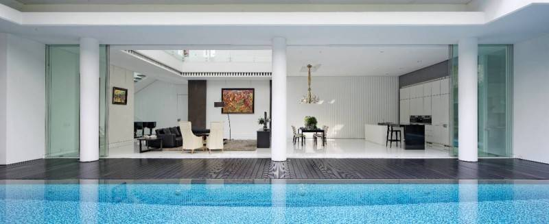 Bk Architects House At Pantai Indah Kapuk (Pik) Jakarta Jakarta Swimming Pool  1738