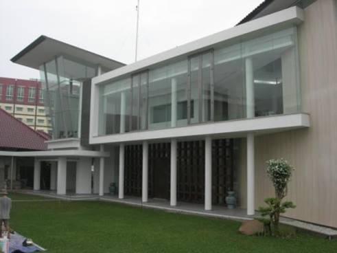 Bk Architects House At Palembang South Sumatera South Sumatera Yard Modern 1741