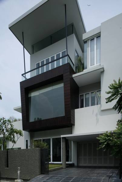 Bk Architects House At Pantai Indah Kapuk (Pik) Jakarta Jakarta Facade  1745