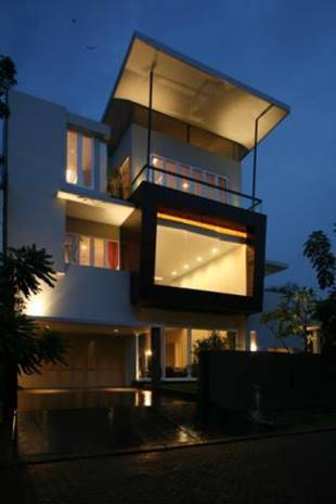 Bk Architects House At Pantai Indah Kapuk (Pik) Jakarta Jakarta Facade  1746