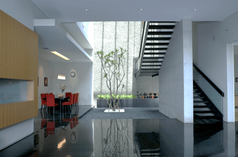 Bk Architects House At Pantai Indah Kapuk (Pik) Jakarta Jakarta Dining Room  1749