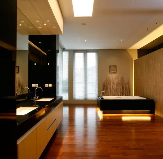 Bk Architects House At Pantai Indah Kapuk (Pik) Jakarta Jakarta Bathroom  1752