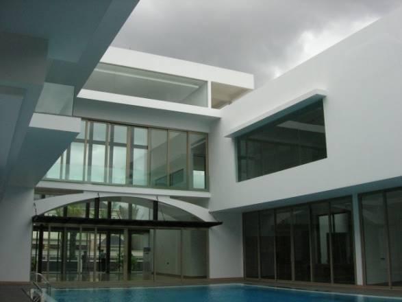 Bk Architects House At Kebon Jeruk Intercone Jakarta Jakarta Swimming Pool  1757