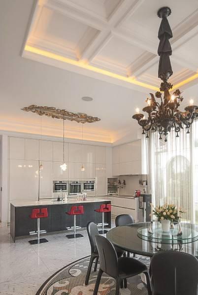 Bk Architects House At Kuningan Jakarta Jakarta Diningroom Klasik 1769