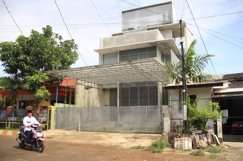 Foto inspirasi ide desain Facade oleh RAW Architecture di Arsitag
