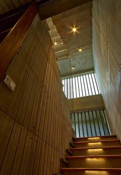 Foto inspirasi ide desain atap Interior - ceiling oleh RAW Architecture di Arsitag