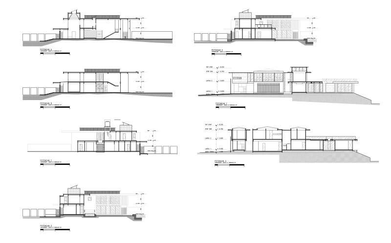 Raw Architecture Pangkalan Jati House Pangkalan Jati, Jakarta, Indonesia Pangkalan Jati, Jakarta, Indonesia Section Model Kontemporer 1576