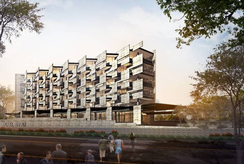 Raw Architecture Rivoli Hotel Jakarta Jakarta Facade Modern 1645