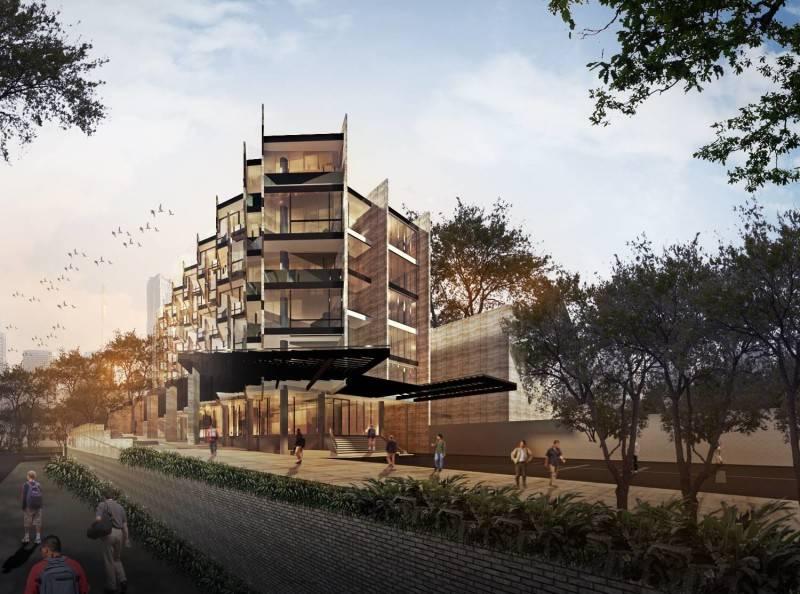 Raw Architecture Rivoli Hotel Jakarta Jakarta Facade  1646