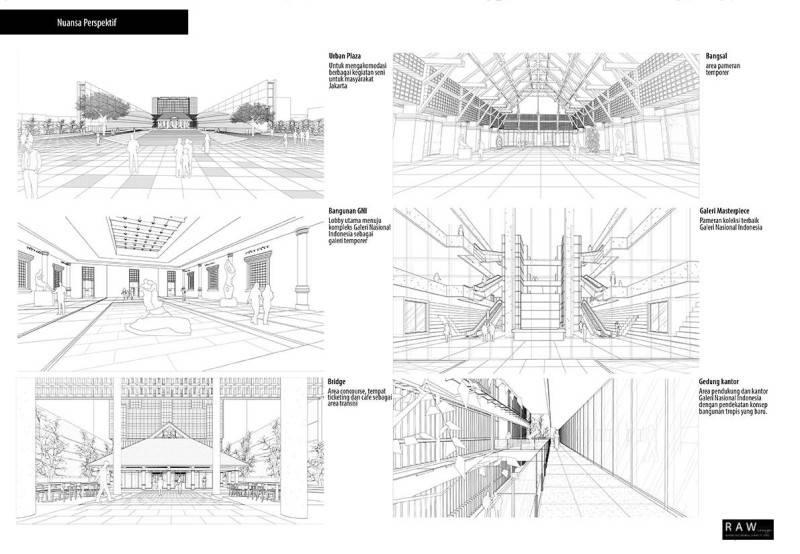 Raw Architecture Galeri Nasional  Jakarta, Indonesia Jakarta, Indonesia Masterplan  1656
