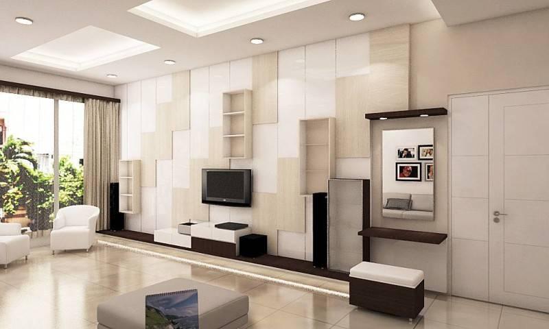 Independent Interior Design & Build Residential Bedroom At Ancol  Jakarta Jakarta Bedroom - Tv Area Kontemporer 1829