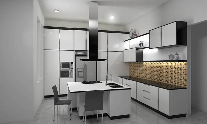 Independent Interior Design & Build Residential Kitchen Jakarta Jakarta Kitchen Modern 1840