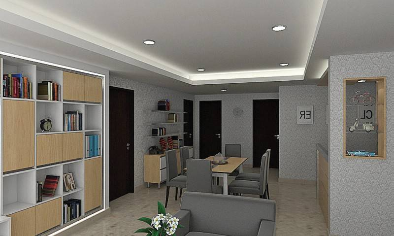 Independent Interior Design & Build Residential Living Room Jakarta Jakarta Dining Room Modern 1842