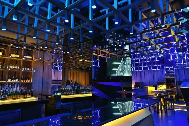 Bitte Design Studio Blowfish Club At Gatot Subroto Jakarta Jakarta Blowfish Club Bar Area  1963