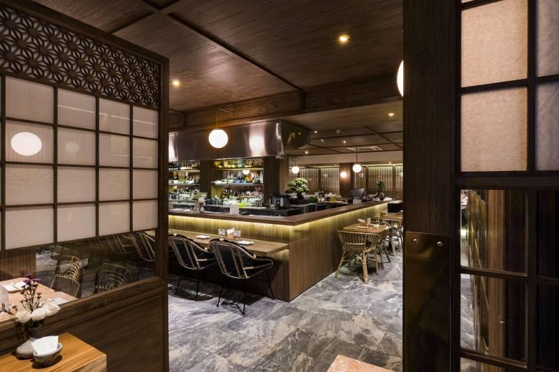 Bitte Design Studio Fujin Teppanyaki & Japanese Whisky At Gunawarman Jakarta Jakarta Bar Area  1977