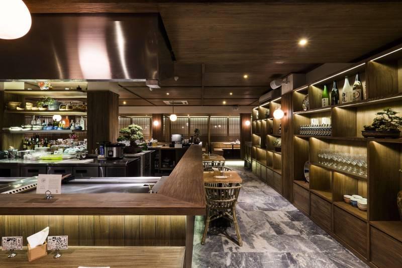 Bitte Design Studio Fujin Teppanyaki & Japanese Whisky At Gunawarman Jakarta Jakarta Bar Area  1978
