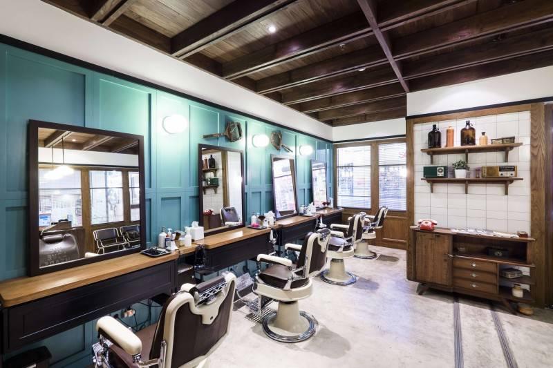 Bitte Design Studio Shortcut Barbershop At Aeon Mall Tangerang, Indonesia Tangerang, Indonesia Barbershop  2005