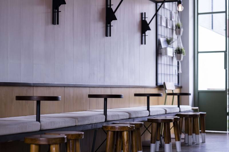 Bitte Design Studio Voyage Coffee At Gading Serpong  Tangerang, Indonesia Tangerang, Indonesia Seating Area Interior View  2019