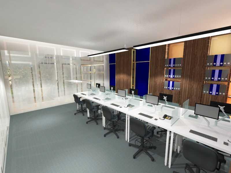 Foto inspirasi ide desain ruang meeting modern 4 oleh TMS Creative di Arsitag