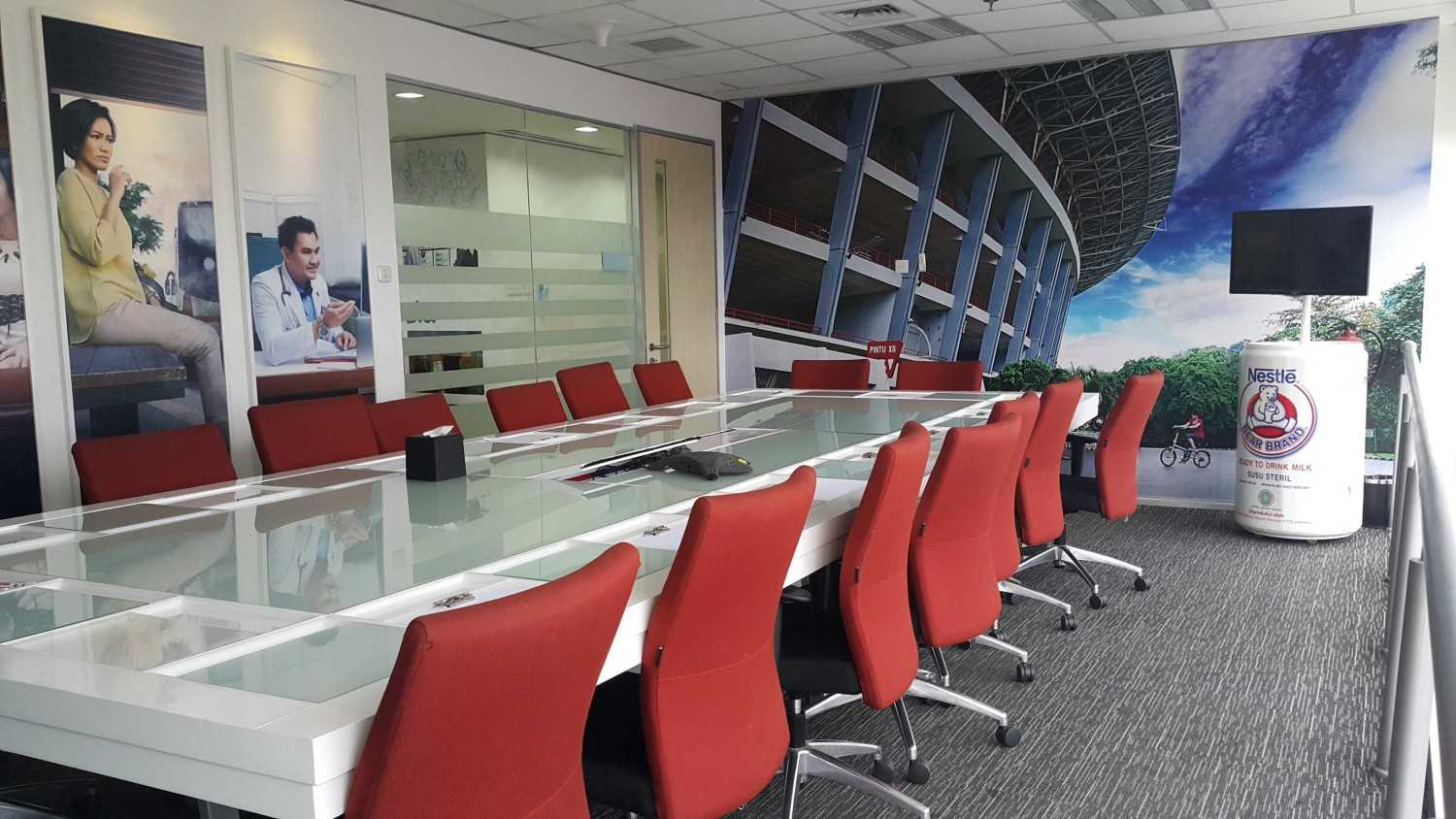 Tms Creative Nestle Meeting Room Aneka Tambang Building South Jakarta Aneka Tambang Building South Jakarta Meeting Room Modern 12391