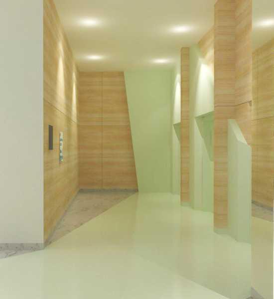Foto inspirasi ide desain koridor dan lorong kontemporer Lift lobby oleh TMS Creative di Arsitag