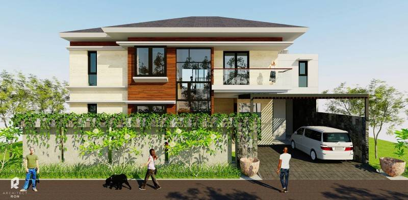Architectron Dp House At Pekalongan Middle Java Middle Java Facade  2044