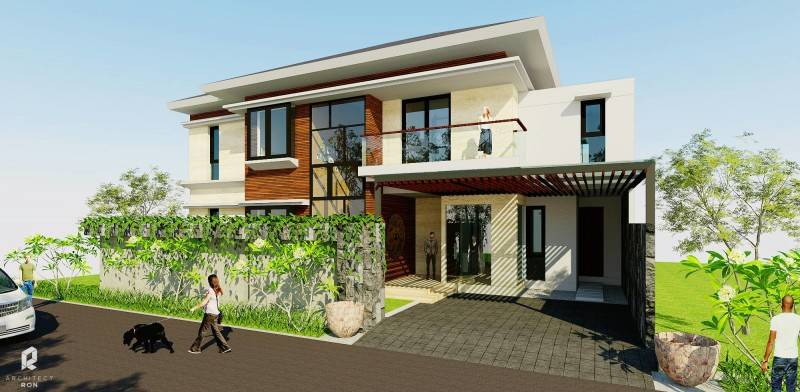 Architectron Dp House At Pekalongan Middle Java Middle Java Facade  2045