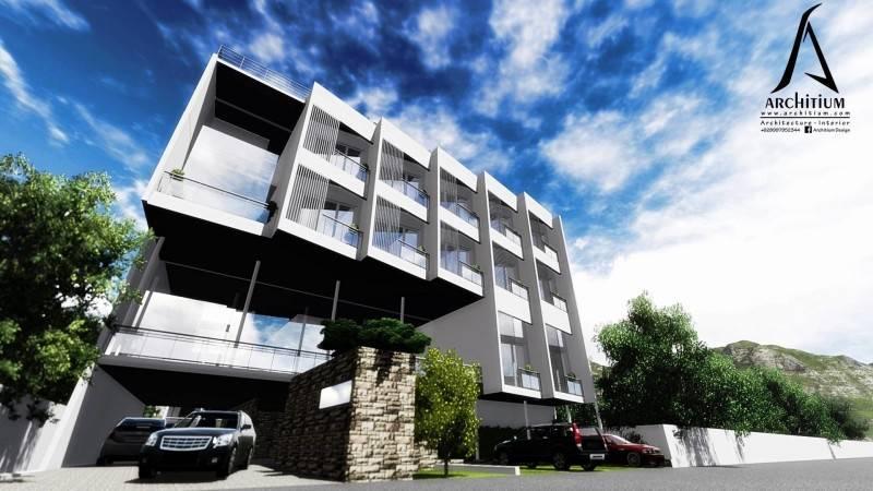Architium Design Boarding House At Bandung West Java, Indonesia West Java, Indonesia Worm-Eye Modern 2249
