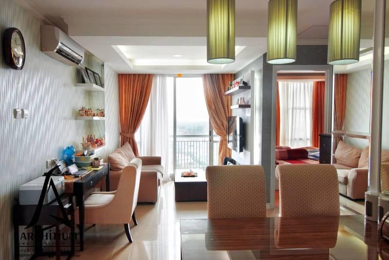 Architium Design Apartment At Pluit Jakarta Jakarta Apartment-Living Room  2263