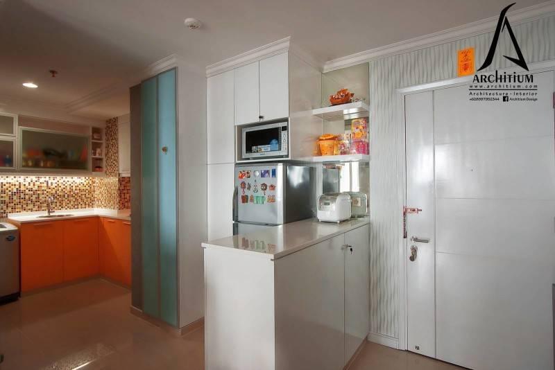 Architium Design Apartment At Pluit Jakarta Jakarta Apartment-Pantry  2264