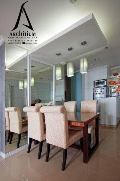 Architium Design Apartment At Pluit Jakarta Jakarta Apartment-Dining Room  2267