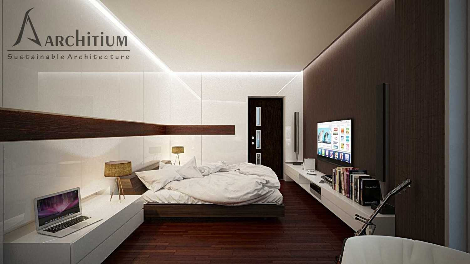 Architium Design Penthouse At Regatta Apartment Regatta Apartment, Jakarta Regatta Apartment, Jakarta Bedroom-A-2 Minimalis,wood 27415