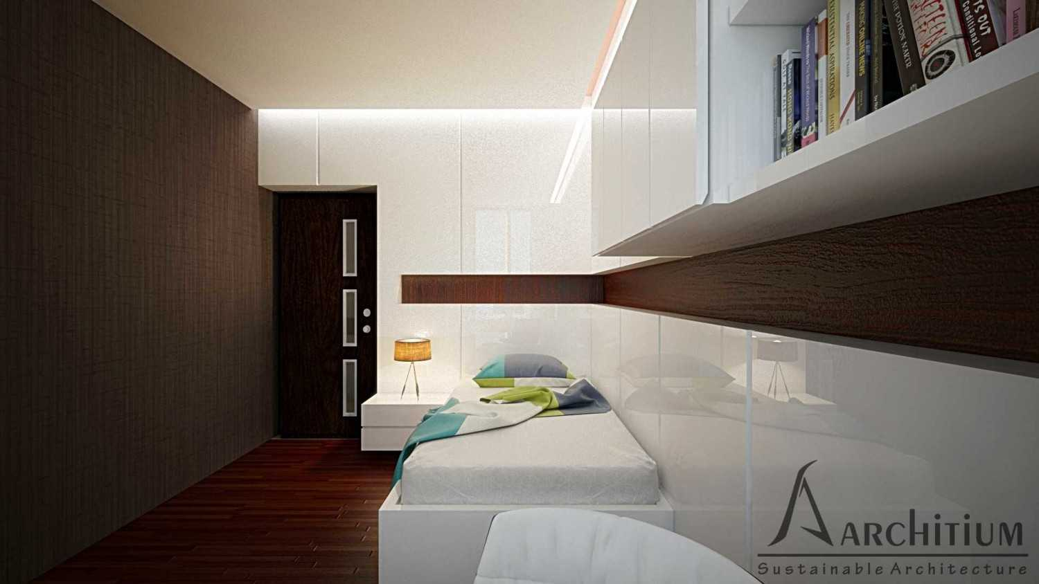 Architium Design Penthouse At Regatta Apartment Regatta Apartment, Jakarta Regatta Apartment, Jakarta Bedroom-B-1 Minimalis 27417