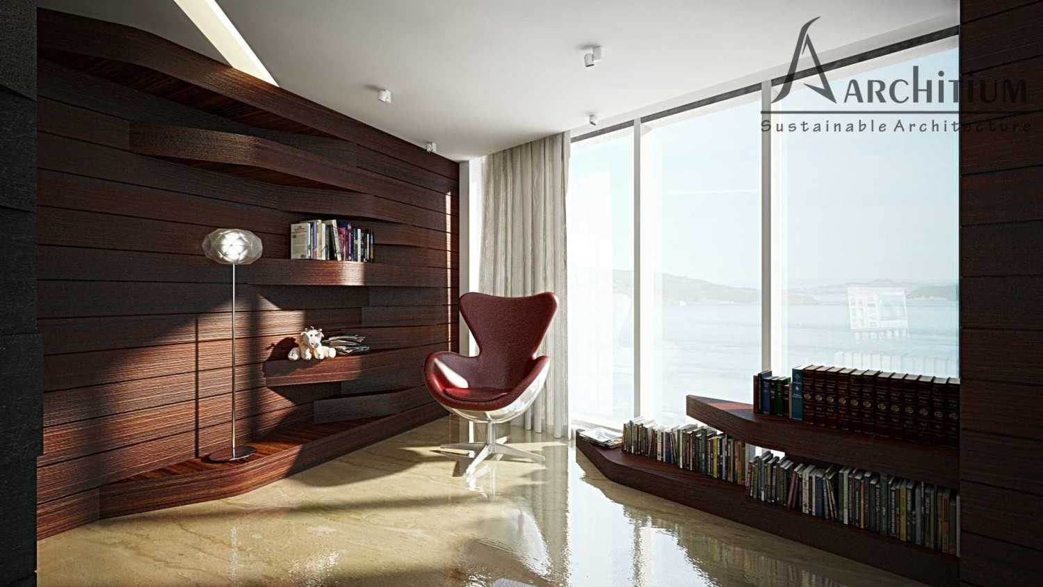 Architium Design Penthouse At Regatta Apartment Regatta Apartment, Jakarta Regatta Apartment, Jakarta Living-Reading Minimalis 27420