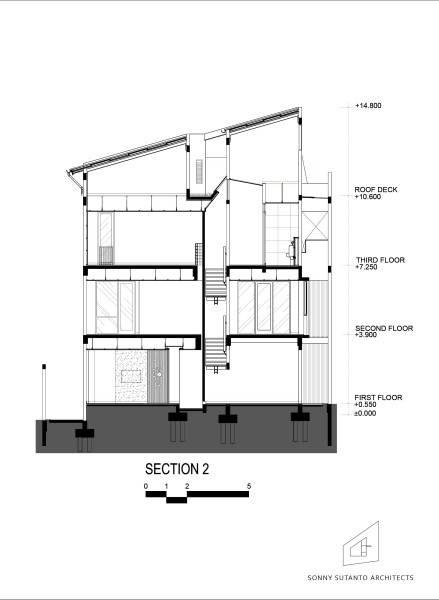 Sonny Sutanto Architects Sonny Sutanto Architects New Office Sunter, North Jakarta, Indonesia Sunter, North Jakarta, Indonesia Masterplan Section 2  2093
