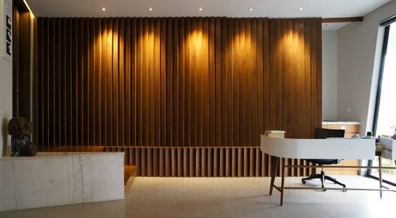 Sonny Sutanto Architects Sonny Sutanto Architects New Office Sunter, North Jakarta, Indonesia Sunter, North Jakarta, Indonesia Receptionist Area  2099