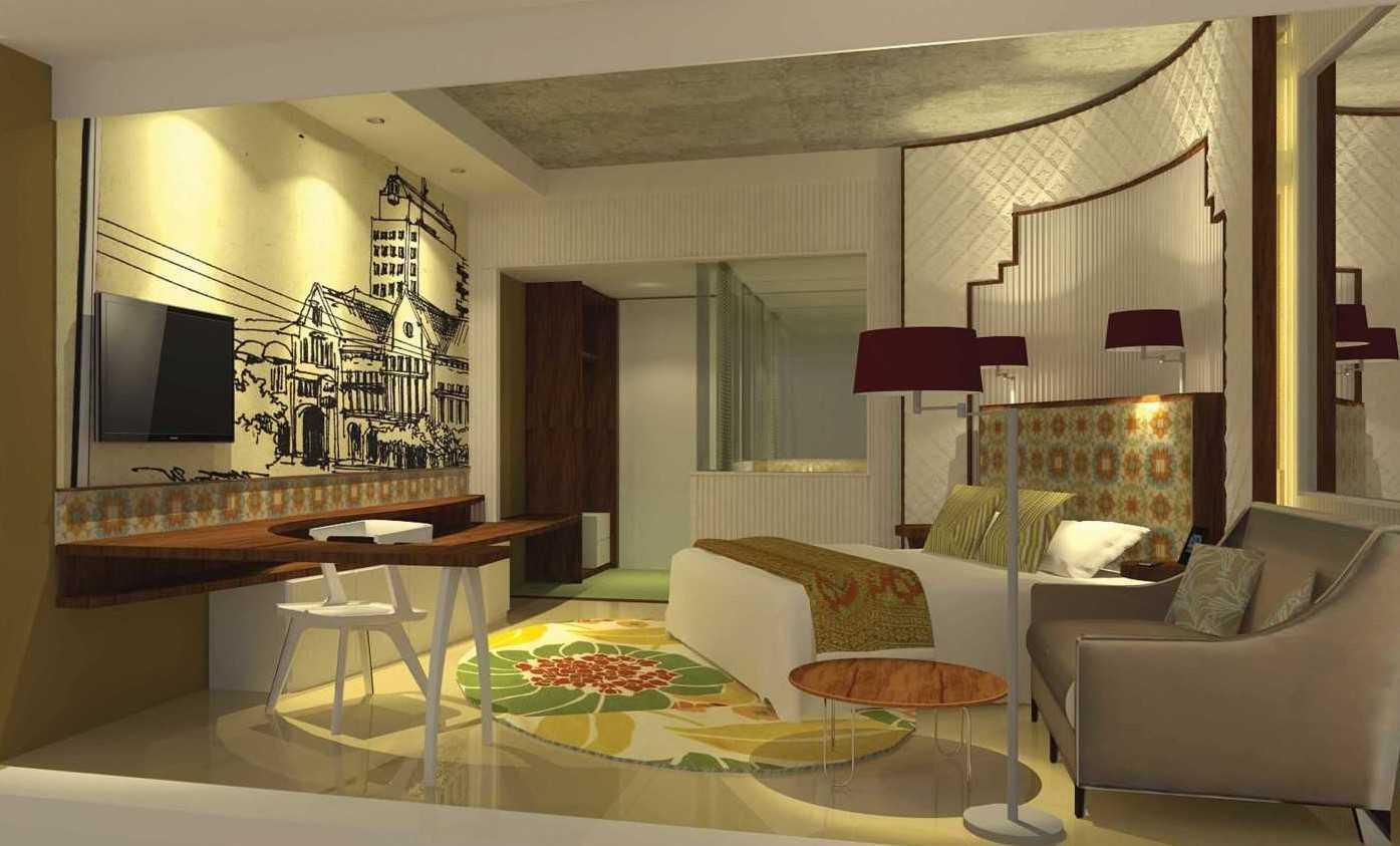 Foto inspirasi ide desain kamar tidur 5 oleh Atelier Cosmas Gozali di Arsitag