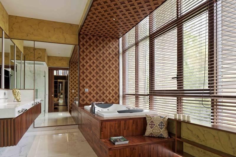 Foto inspirasi ide desain kamar mandi Bathroom oleh Atelier Cosmas Gozali di Arsitag